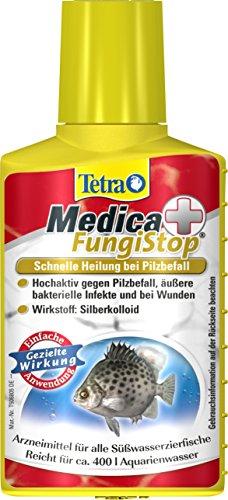 Tetra Medica FungiStop (Arzneimittel für tropische Zierfische zur Behandlung von Verpilzung und zur Vorbeugung von infektiösen Wunden), 100 ml Flasche