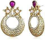 Best Sia - SIA Art Jewellery Drop Earrings for Women (Golden) Review