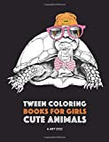 Best Books For Tweens - Tween Coloring Books For Girls: Cute Animals: Colouring Review