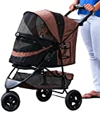 Best Pet Gear Dog Strollers - Pet Gear No-Zip Special Edition Pet Stroller, Chocolate Review