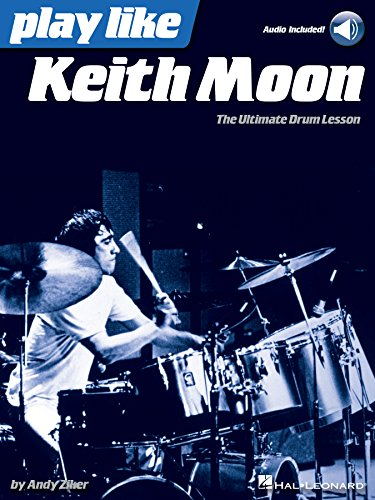 Play like keith moon the ultimate drum lesson book with online play like keith moon the ultimate drum lesson book with online audio tracks by fandeluxe Choice Image