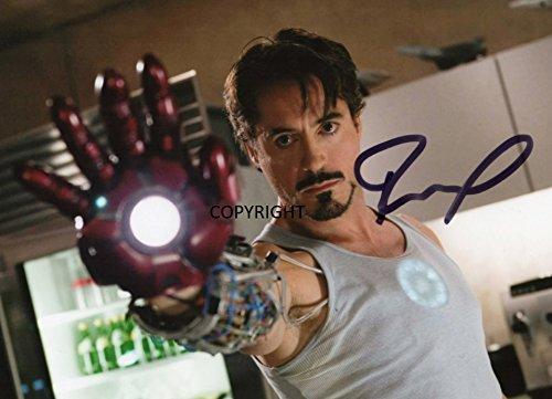 Limited Edition Robert Downey Jr Iron Man unterzeichnet Foto Autogramm signiertsigniertes (Foto-und Autogramm-buch)