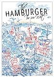 Hamburg Poster The Hamburger - Städteposter