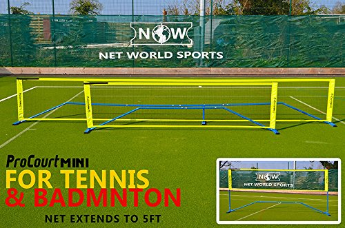 ProCourt Mini Tennis- und Badmintonset 6 m [Net World Sports]