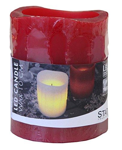 LED vela de cera de color