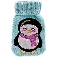 Knitted Hand Warmer Türkis Handwärmer Wärmekissen mit Pinguinmotiv preisvergleich bei billige-tabletten.eu