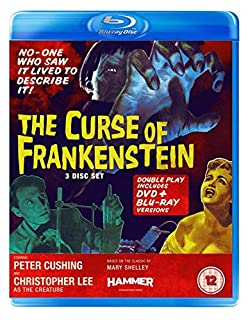 The Curse of Frankenstein (Blu-ray + DVD) [1957] (B008LU8MME) | Amazon Products