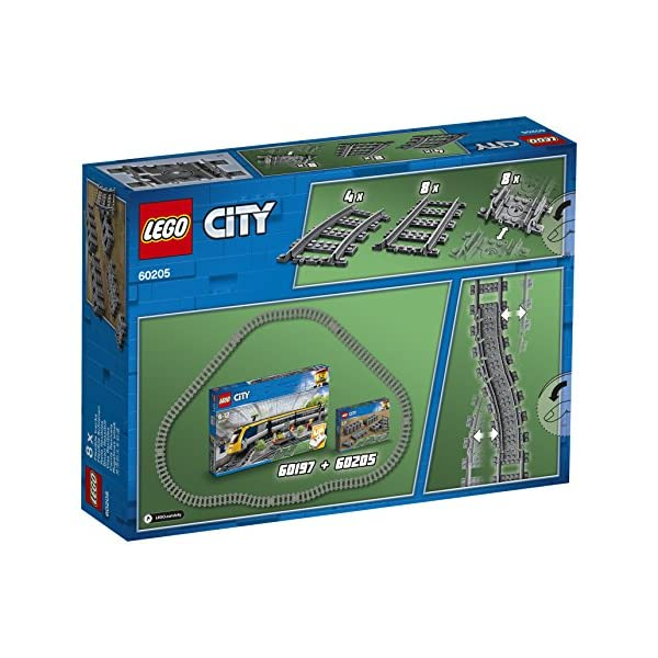 LEGO City - Binari, 60205 3 spesavip