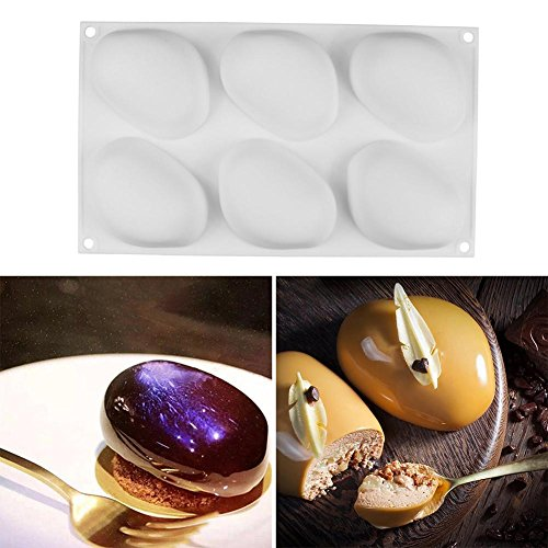 3D Cobblestone Form Formt Silikon Form Kuchen Mousse für Eiscreme Schokoladen Gebäck Kunst Wanne Dessert Backformen Kuchen Dekorieren von Werkzeugen