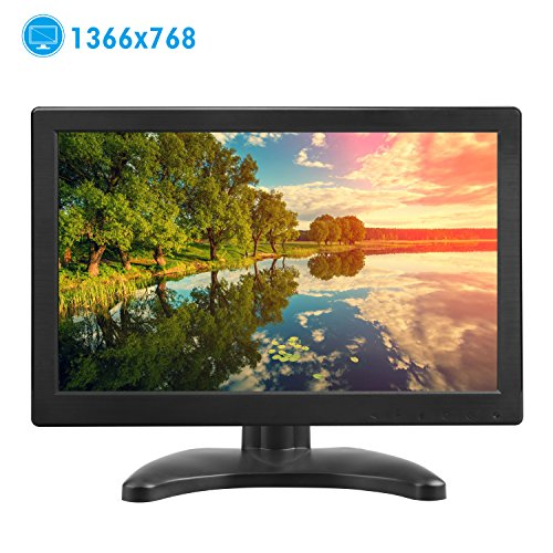 TOGUARD Pantalla 12 Pulgadas PC Monitor Full HD TFT