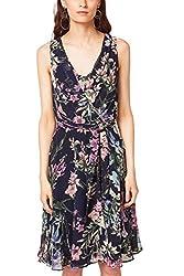 ESPRIT Collection Damen Kleid Flower