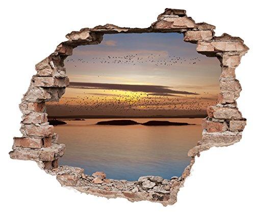 Eurographics Loch in der Wand–Toskana Sonne 50x 70, Mehrfarbig