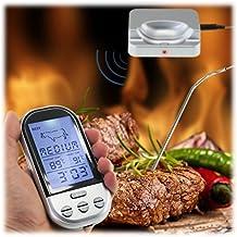 MAIKEHIGH termometro da cucina Telecomando Wireless per Barbecue con termometro digitale, controlla temperatura per carne da Barbecue, Smoker, Grill, forno, per carni