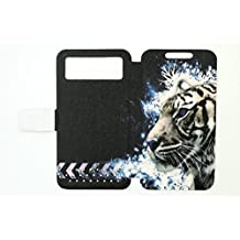 Flip Pu Leather Carcasa Cover para Funda Woxter Zielo Zx-840 Hd Funda LH