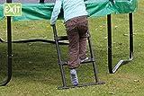 EXIT Leiter L (90 cm) / passende Trittleiter für Trampoline mit einem Ø 366 cm+ und mit einer...