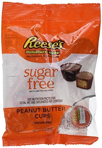 Preisvergleich Produktbild Reese's PNB Cup Peg Beutel Zuckerfreie Minis 85 g,  2er Box (2 x 85 g)