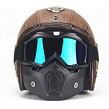 zyy Casco Halle Four Seasons Crash Casco Modular Casco Completo Carreras de Motos de Carreras con