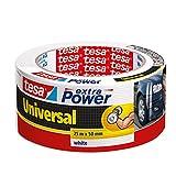 Tesa 56388-00002-05 Extra Power Universal Nastro Telato Americano, 25m:50mm, Bianco