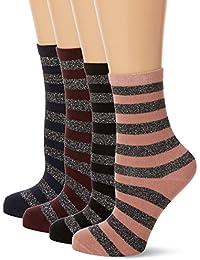 PIECES Damen Socken, 4er Pack