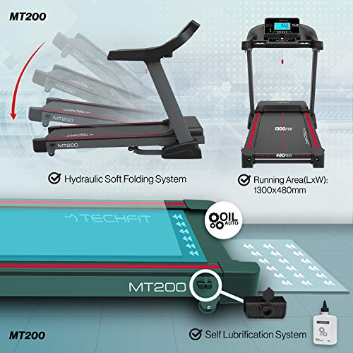 Zoom IMG-3 techfit mt200 tapis roulant professionale