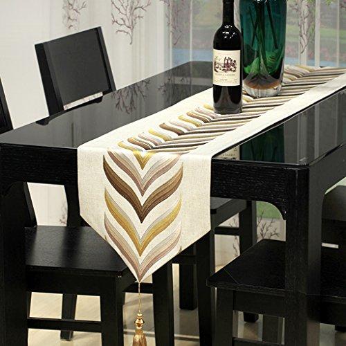 BSNOWF-Chemin de table Chemin De Table Brodé Tissu Art Lit Armoire Table Basse Style Européen Restaurant Salon Hôtel ( taille : 32*240cm )
