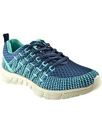 b5adac3b7a AXA Scarpe Unisex Sneakers Tela Blu 78061A Blue