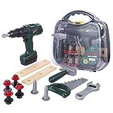 Giplar Spiel Synthetische Koffer - 12 Stücke Werkzeug Bosch Tool Set Kinder Rollenspiel Geschenke Für Jungen Mädchen