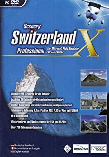 Flight Simulator X - Switzerland Pro - [PC] (B0014BDQMI) | Amazon Products