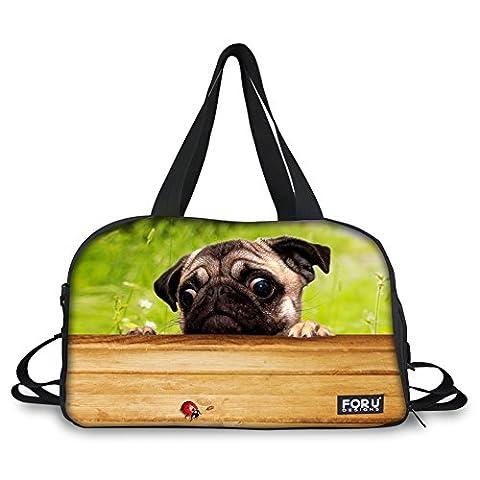thikin Katze Pet Animal Print Personalisierte Duffle Bag Sport Gym