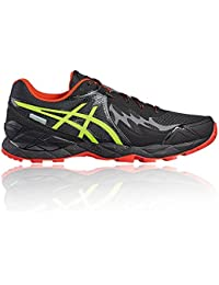 Asics Gel FujiEndurance PlasmaGuard Black Safety Yellow Vermilion
