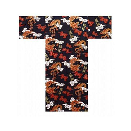Yukata Giapponses Authentico Kimono Modelo UNRYU MOJI-946 multicoloured