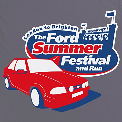 The Ford Summer Festival T-Shirt, Herren Anthrazit