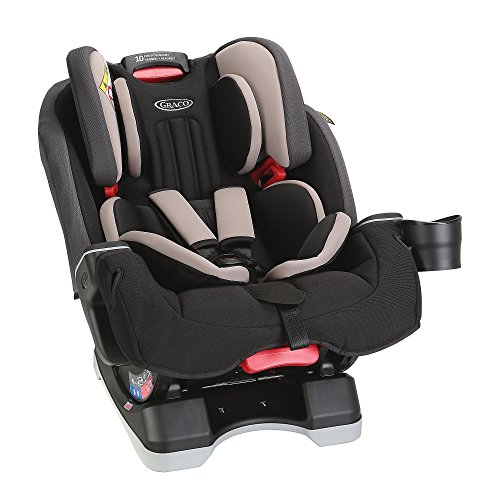 Graco Milestone All-in-One Car Seat, Aluminium