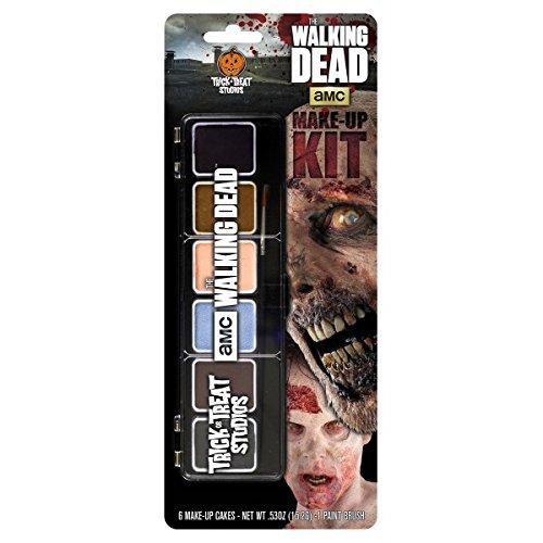 ING DEAD Zombie Halloween (Maquillaje De De Halloween Zombie)