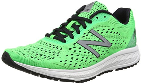 New Balance Vazee Breathe V2, Scarpe Running Uomo, Verde (Green/White), 44.5 EU