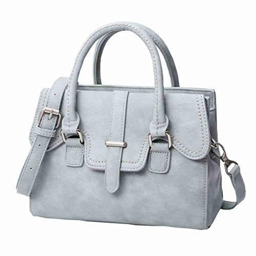 KUWOMINI.Women Bags Tutti I Sacchetti Di Stagione Del Sacchetto Insieme Con Per L'oro Bianco Casuale All'aperto Bianco Nero Blu Grey
