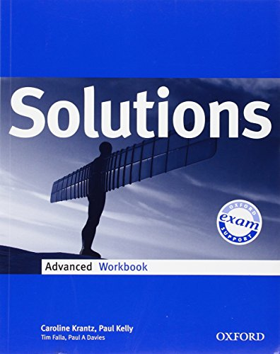 Solutions. Advanced. Workbook. Per le Scuole superiori