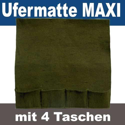Pflanztasche Pflanzmatte 4er Bewuchsmatte Maxi (Maxi, 4er Pflanzmatte)