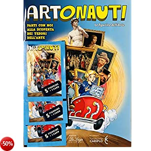 Album + 3 BUSTINE di Figurine ARTONAUTI