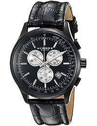 Akribos XXIV Reloj de cuarzo Man AK863BK 42 mm