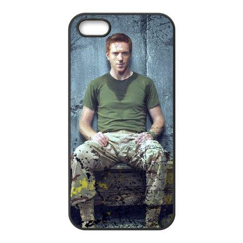 Homeland 1 coque iPhone 5 5S cellulaire cas coque de téléphone cas téléphone cellulaire noir couvercle EOKXLLNCD24419, coques iphone