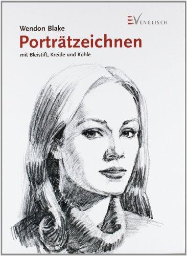 Porträtzeichnen mit Bleistift, Kreide und Kohle