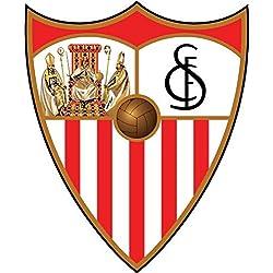 Sevilla FC Spain Soccer Football Alta Calidad De Coche De Parachoques Etiqueta Engomada 10 x 12 cm
