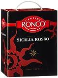 Cantine Ronco Sicilia rosso IGT trocken Bag-in-Box (1 x 3 l)