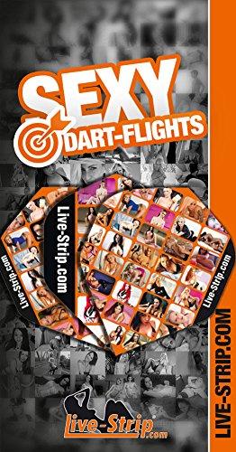 9 Dart-Flights | Standard Form | Dart-Pfeile | Live-Strip -