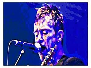 Blur Live Damon Albarn Affiche d'impression d'art