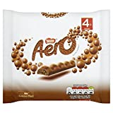 Aero Milk Chocolate Bar, 4 x 27g
