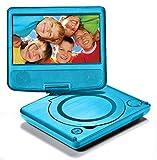 "LEXIBOOK DVDP1 - Lettore Dvd Portatile, Schermo LCD 7"""