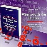 Produkt-Bild: Wörterbuch der Chemie. Deutsch - Englisch / English - German. CD-ROM für Windows 3.11/95: Dictionary of Chemistry. Über 56.000 Einträge
