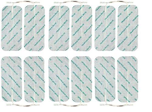 Grande TENS Almohadillas 16 trabajo de la maternidad TENS electrodos para máquinas de Elle, Lloyds, Obi, Neurotrac
